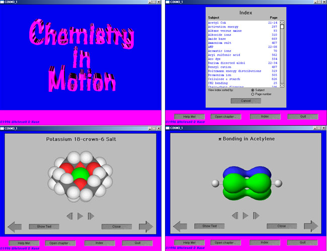Chemistryinmotion